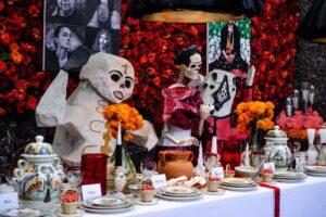 В доме Фриды Кало необычно отметили День мертвых