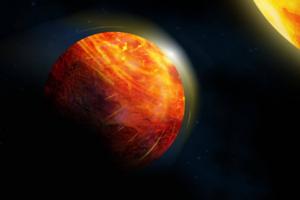 Дождь из камней и океан лавы: астрономы описали адскую экзопланету