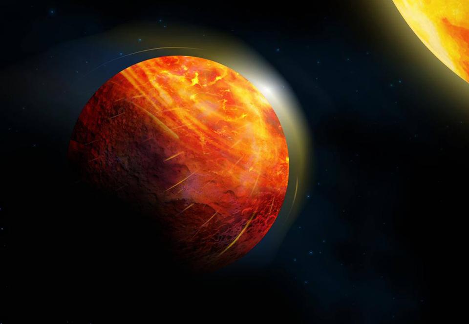 Дождь из камней и океан лавы: астрономы описали адскую экзопланету.Вокруг Света. Украина