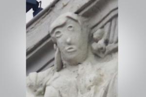 В Испании реставратор до неузнаваемости изуродовал голову пастушки