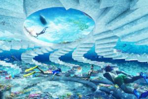 В Майами-Бич откроют уникальный рифовый парк подводных скульптур