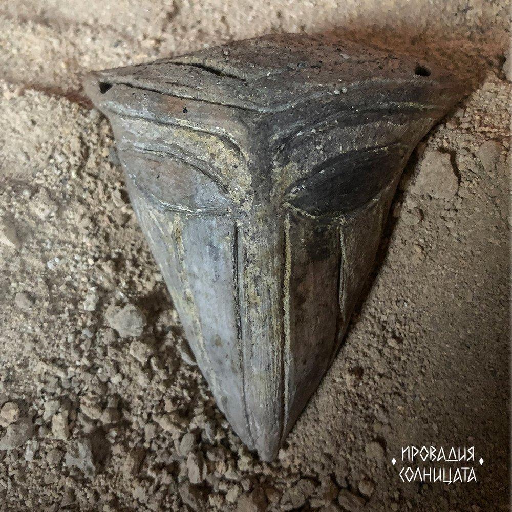 В доисторическом болгарском поселении нашли маску бога соли