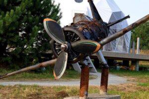 Под Львовом открыли музей разбитых самолетов