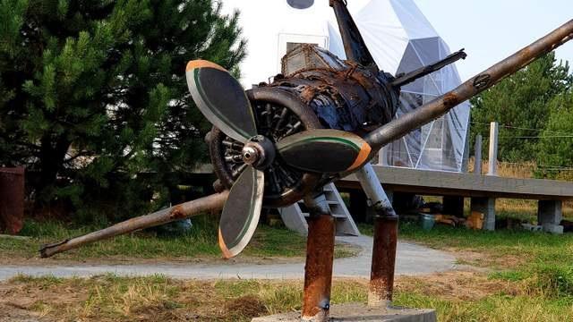 Под Львовом открыли музей разбитых самолетов.Вокруг Света. Украина