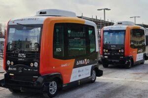 В Канаде на маршрут вышли беспилотные городские автобусы