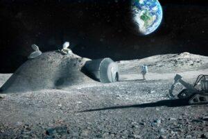 Британцы будут превращать лунную пыль в кислород