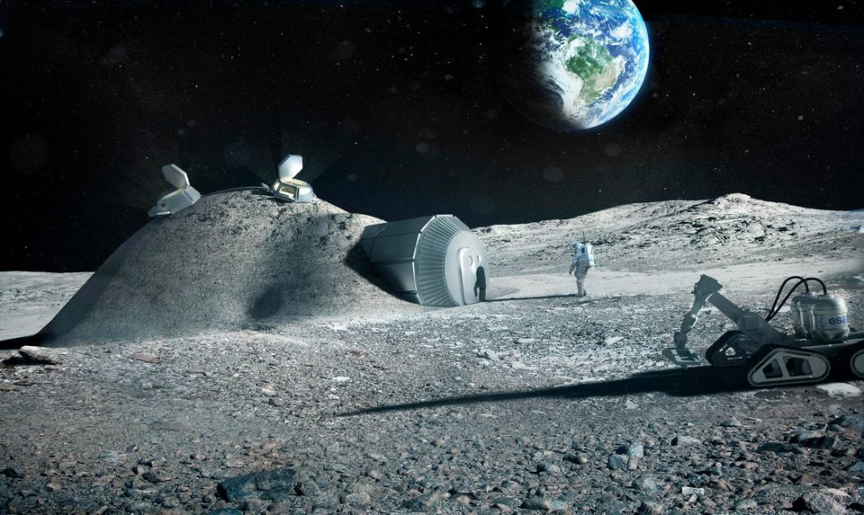 Британцы будут превращать лунную пыль в кислород.Вокруг Света. Украина