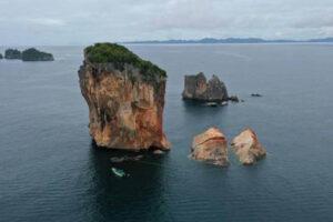 В Таиланде разрушается знаменитая скала
