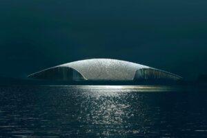 В Норвегии построят красивейший центр для наблюдения за китами