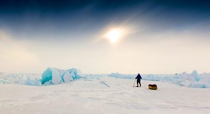 Британец совершит 100-дневную соло-экспедицию по Арктике, чтобы привлечь внимание к изменениям климата