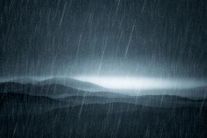 Однажды на Земле миллион лет непрерывно шел дождь