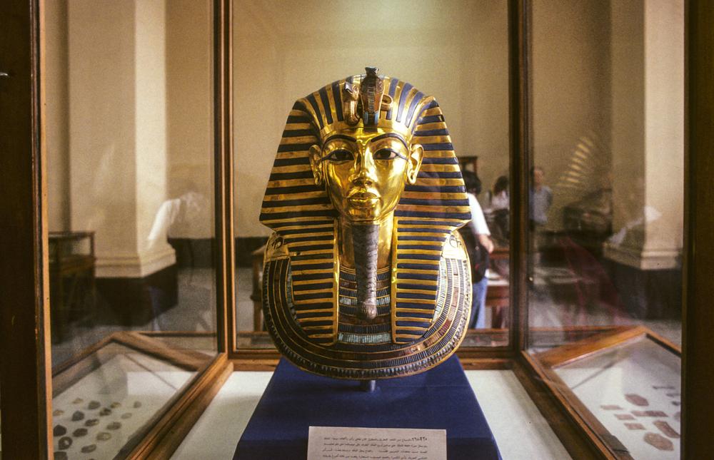 Тутанхамон пирамида Каир