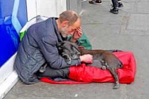 Под Рождество бездомным Лондона подарят две недели в отеле