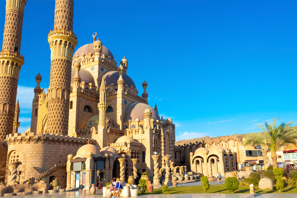 Шарм-эль-Шейх мечеть фото