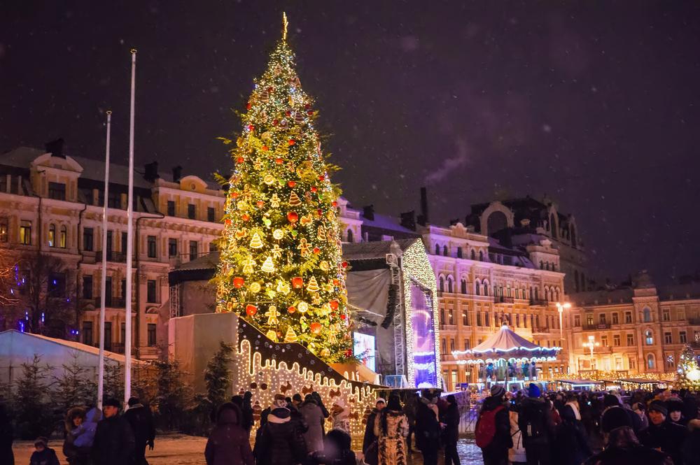 Где встретить Новый год-2021 в Украине?