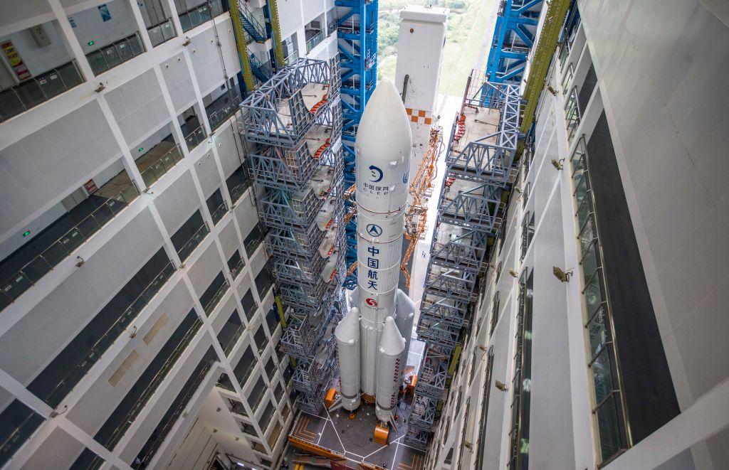 Китай запустит миссию на Луну для сбора образцов грунта.Вокруг Света. Украина