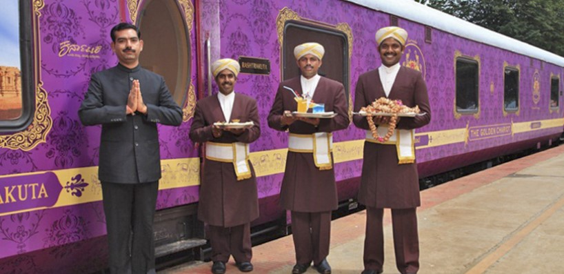 В Индии начнет курсировать туристический VIP-поезд.Вокруг Света. Украина