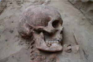 На Хортице нашли нетронутое захоронение скифского воина