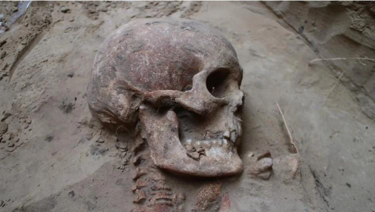 На Хортице нашли нетронутое захоронение скифского воина.Вокруг Света. Украина