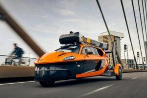 В Нидерландах зарегистрировали первый в мире летающий автомобиль