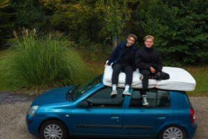 В Англии на Airbnb сдают матрас на улице