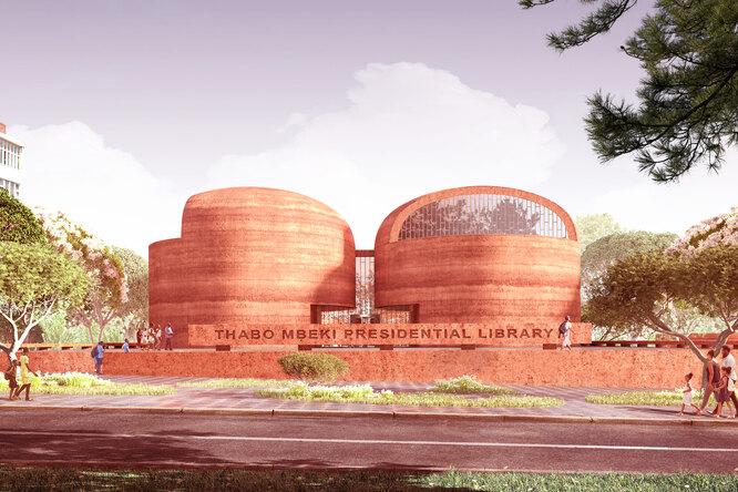 В ЮАР построят библиотеку из земли
