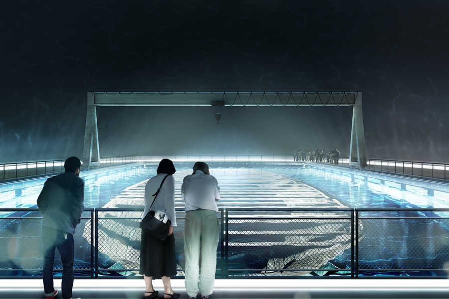 В Амстердаме откроют подводный музей затонувшего корабля. Будет красиво