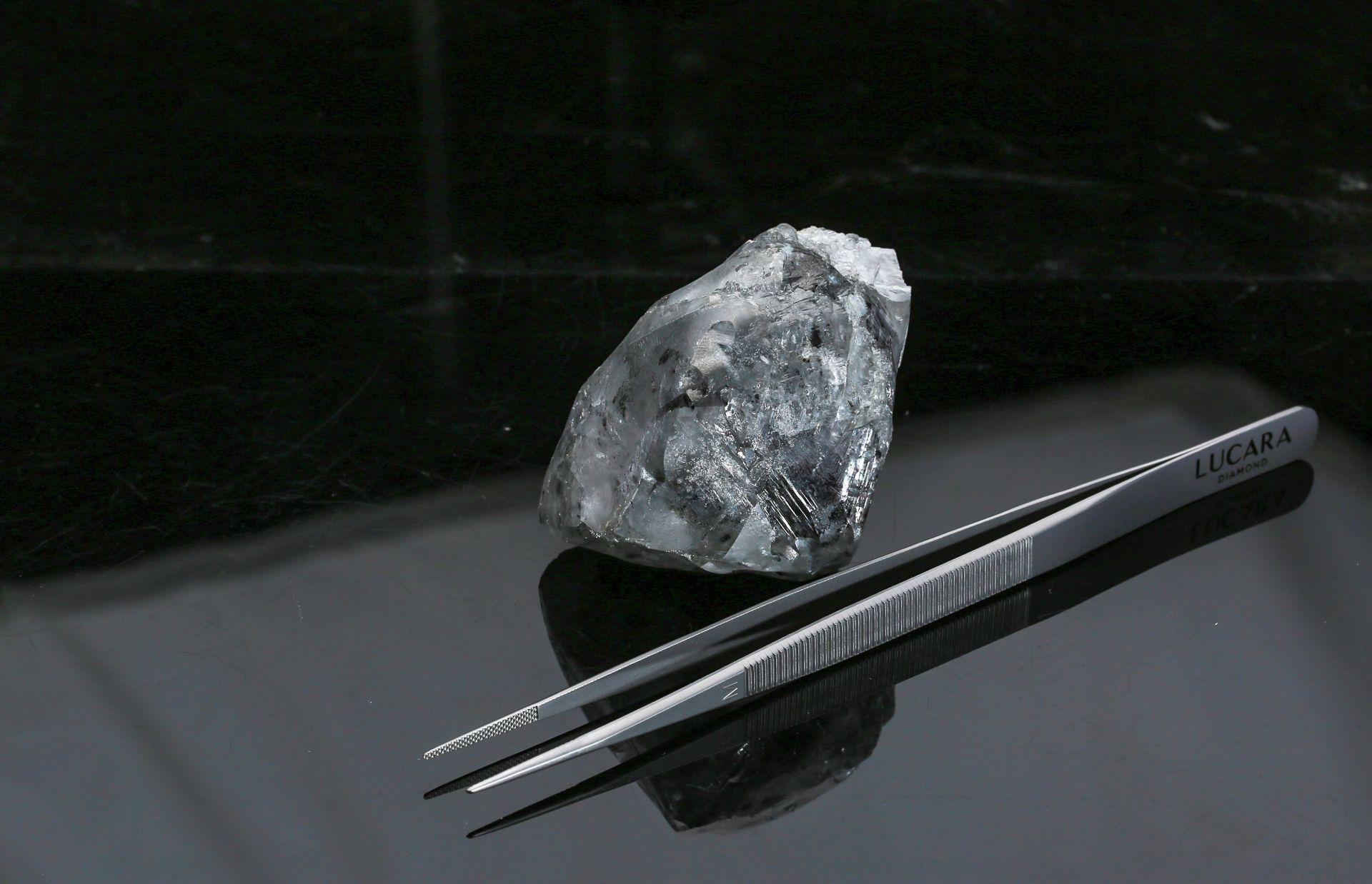 В Ботсване нашли один из крупнейших в истории алмазов