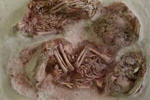 В Австрии нашли древнейших близнецов