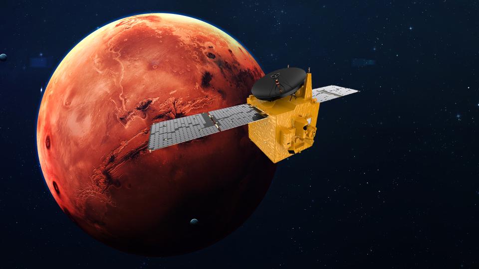 Зонд ОАЭ прибудет на Марс 9 февраля 2021 года.Вокруг Света. Украина