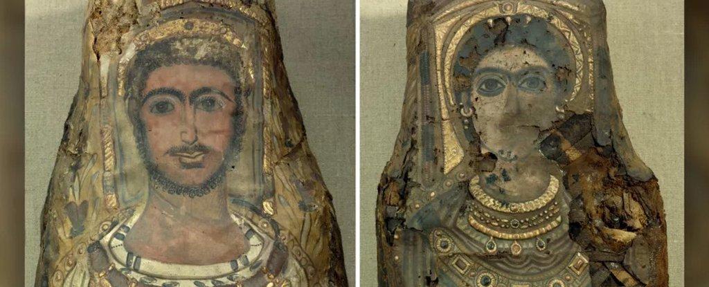 Египтологи раскрыли секреты редких мумий с помощью компьютерной томографии.Вокруг Света. Украина