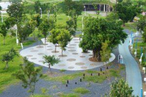 В Тайване создали высокотехнологичный парк: без комаров и с вентиляцией