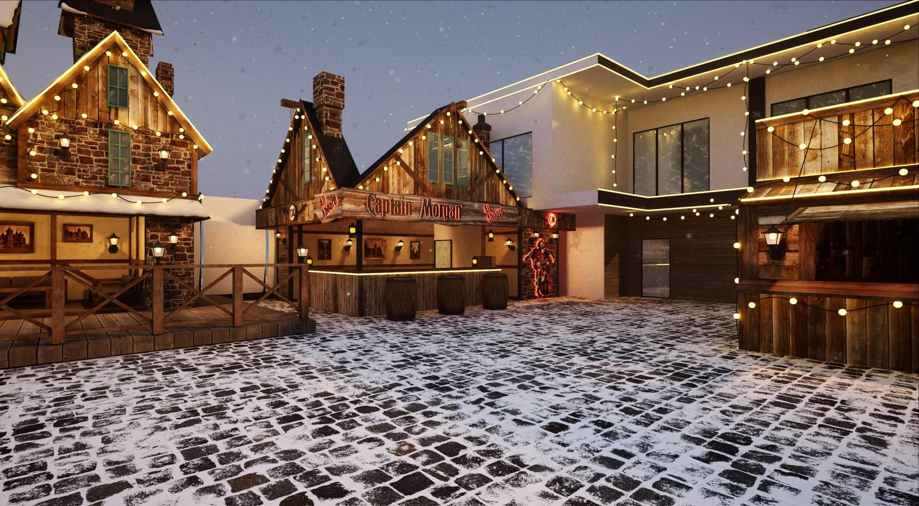 Окунись в магию, не выезжая из Киева: в столице откроют грандиозную зимнюю локацию с катком.Вокруг Света. Украина