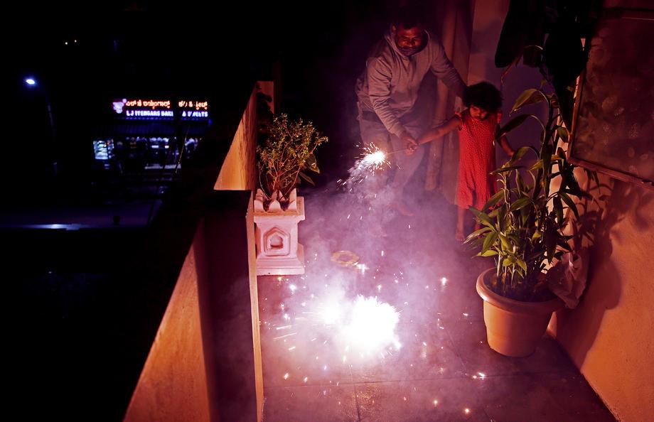 После индийского Нового года повис токсичный смог