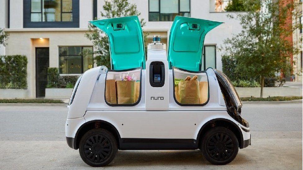 В Калифорнии рождественские подарки (и не только) будет доставлять робот.Вокруг Света. Украина