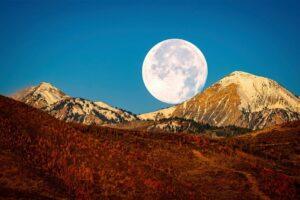 Начало зимы ознаменовала полная Бобровая Луна