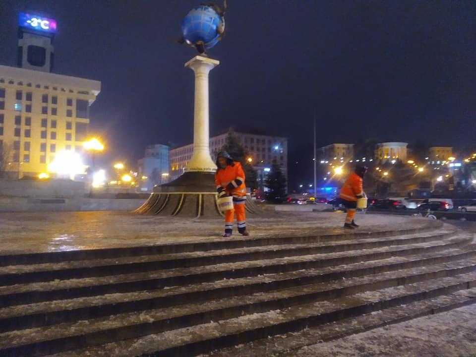 В Украине ㅡ гололедица. Что делать, чтобы уберечься?