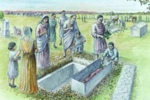 Раскрыта тайна могилы римлянки, погребенной в золотом платье 1600 лет назад