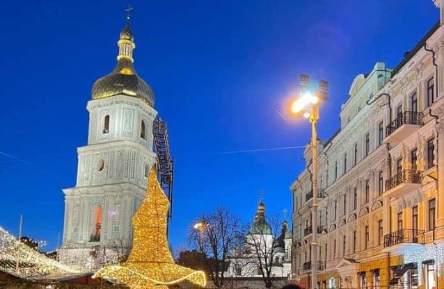 На Софийской площади в Киеве появилось место для загадывания желаний.Вокруг Света. Украина