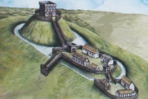 В Уэльсе на месте замка XI века нашли стены, стрелы и скелеты