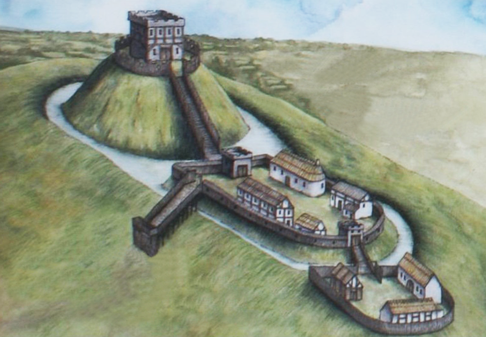 В Уэльсе на месте замка XI века нашли стены, стрелы и скелеты.Вокруг Света. Украина