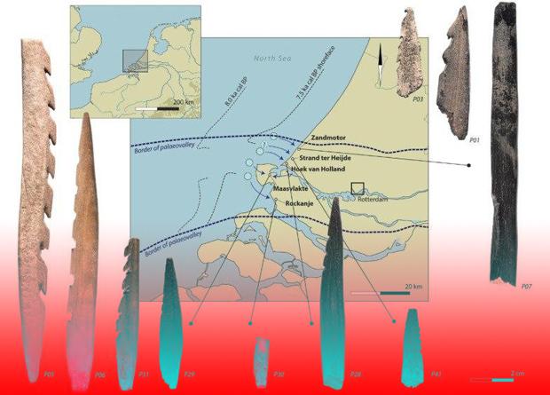 Археологи впервые нашли древнее оружие из человеческих костей