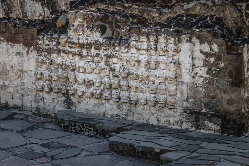 ацтеки архитектура башня