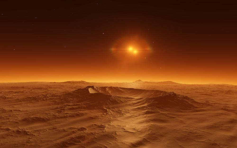 Планетологи нашли лучшее место для жизни на Марсе.Вокруг Света. Украина