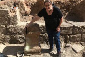 В старинной христианской церкви нашли алтарь языческого бога