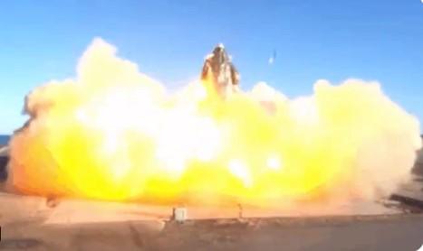 Ракета SpaceX взорвалась, но Маск доволен