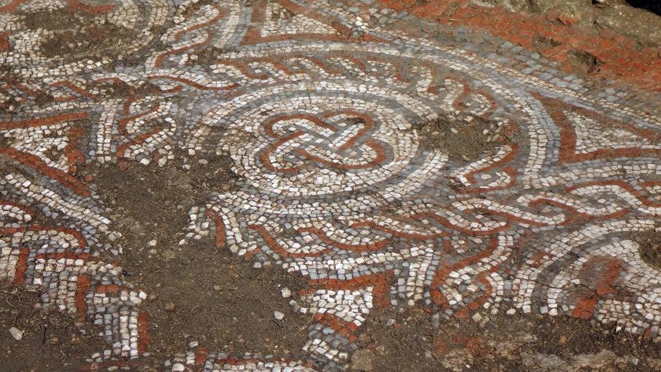 Мозаика показывает, что римская цивилизация сохранилась в Англии и после падения Рима.Вокруг Света. Украина