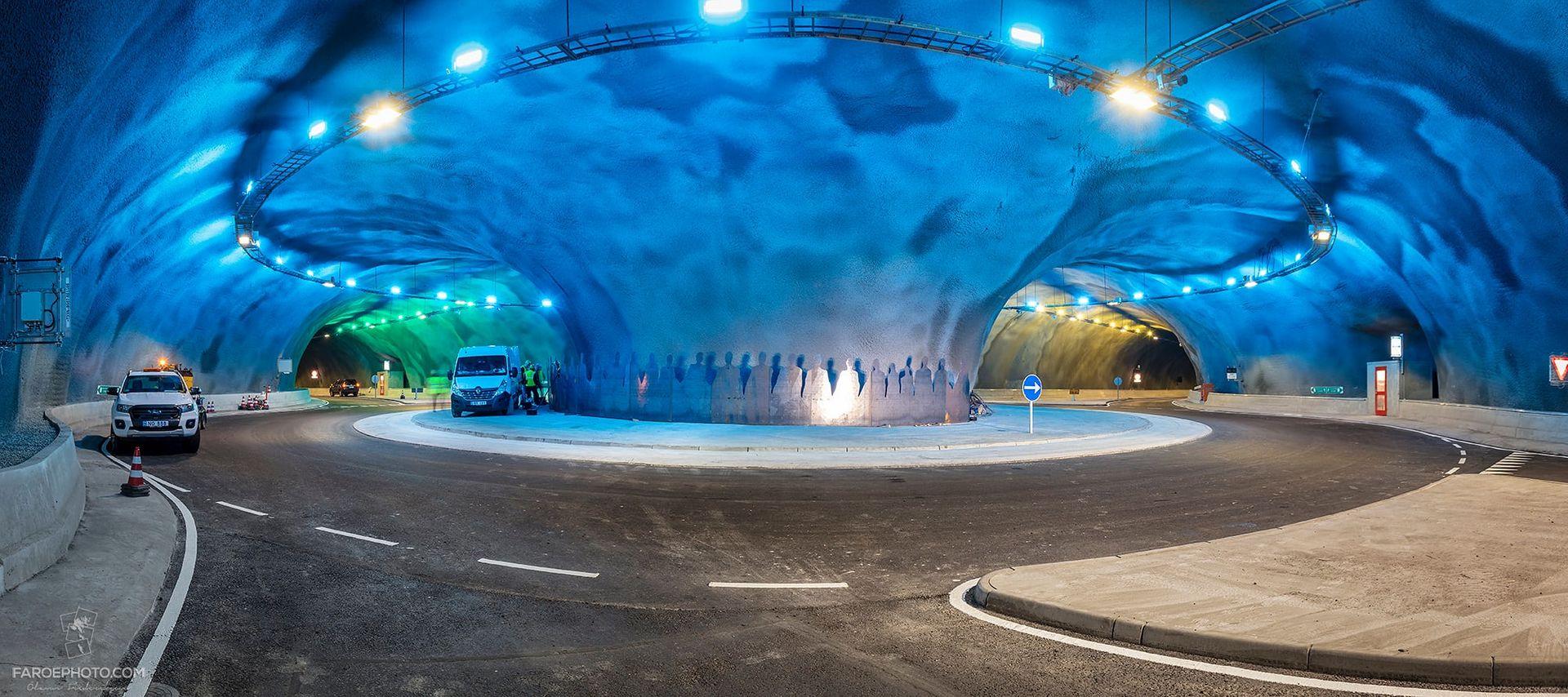 На Фарерах построили развязку на дне океана