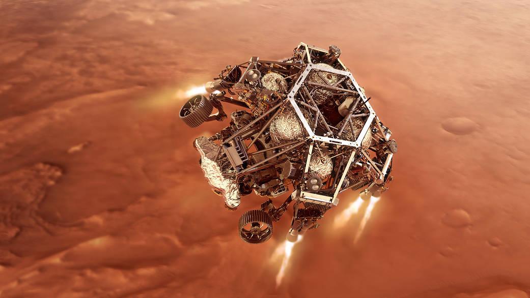 Perseverance NASA марсоход