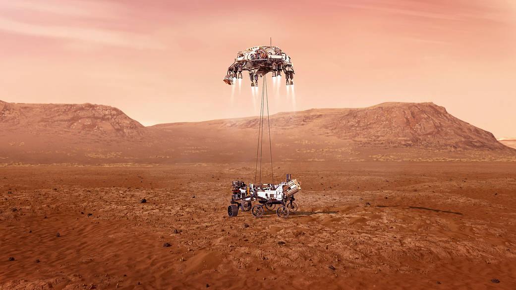 NASA выпустило ролик о приземлении марсохода Perseverance и «семи минутах ужаса».Вокруг Света. Украина